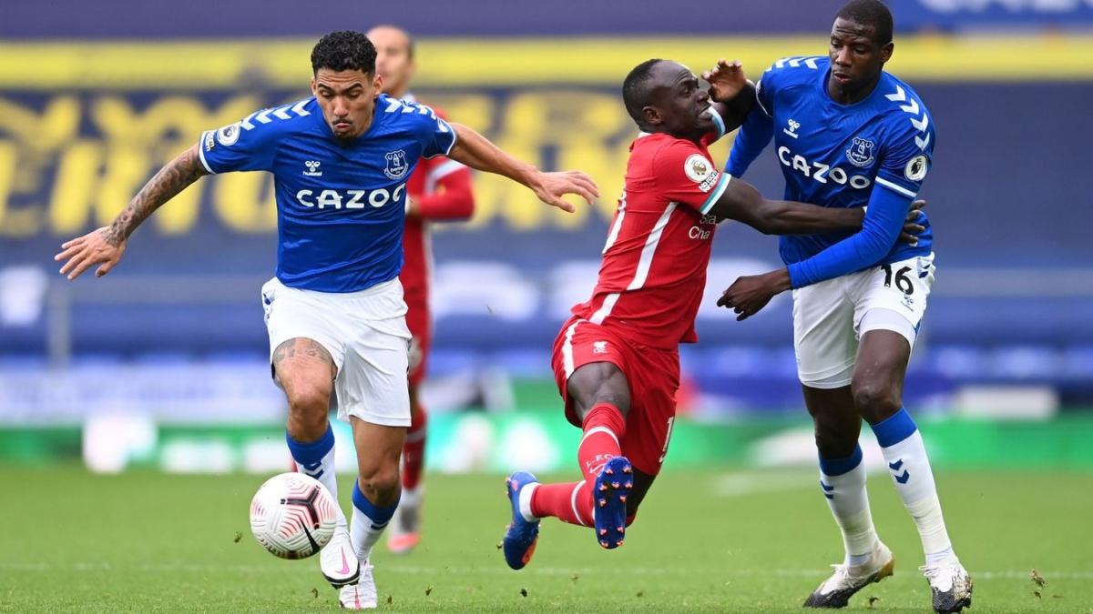 Everton tạo ra tỷ lệ cầm bóng lên tới 75% trong quãng thời gian đầu hiệp 2. (Ảnh: Getty)