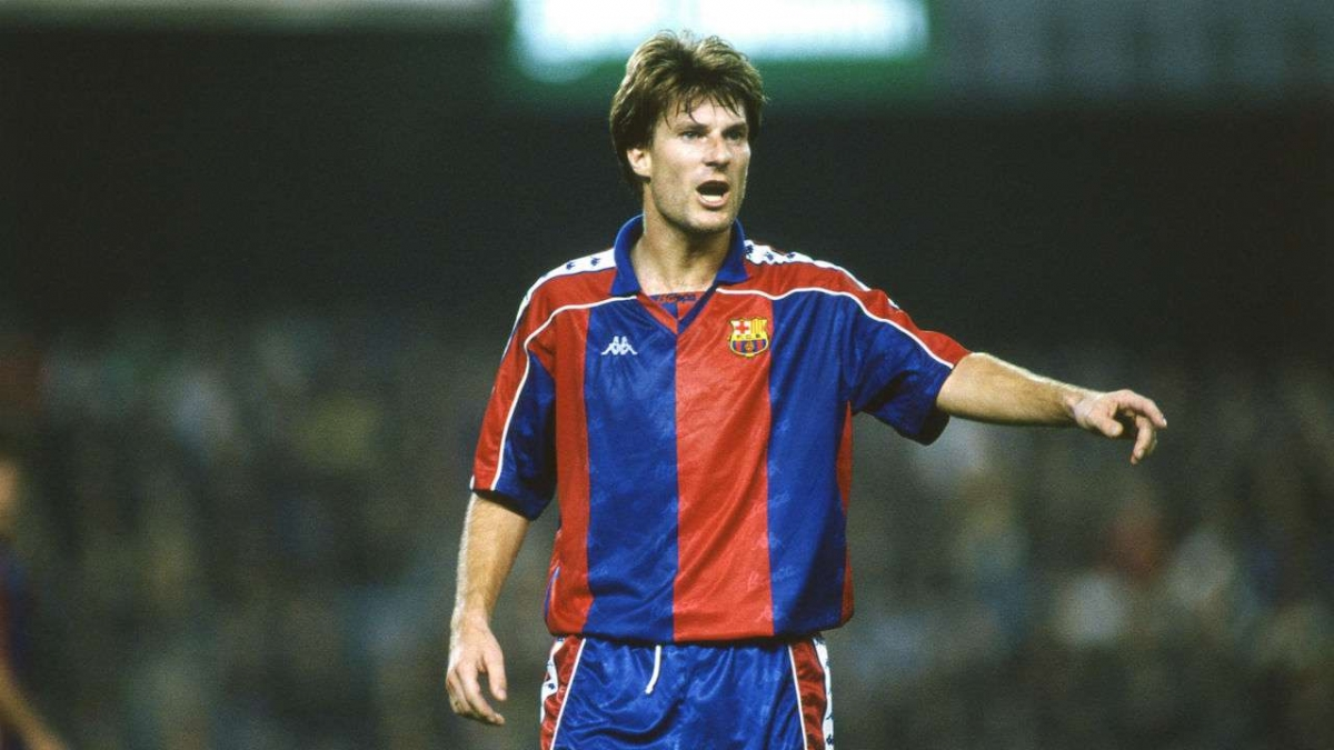 Michael Laudrup | Juventus: 1985 - 1989 | Barca: 1989 - 1994