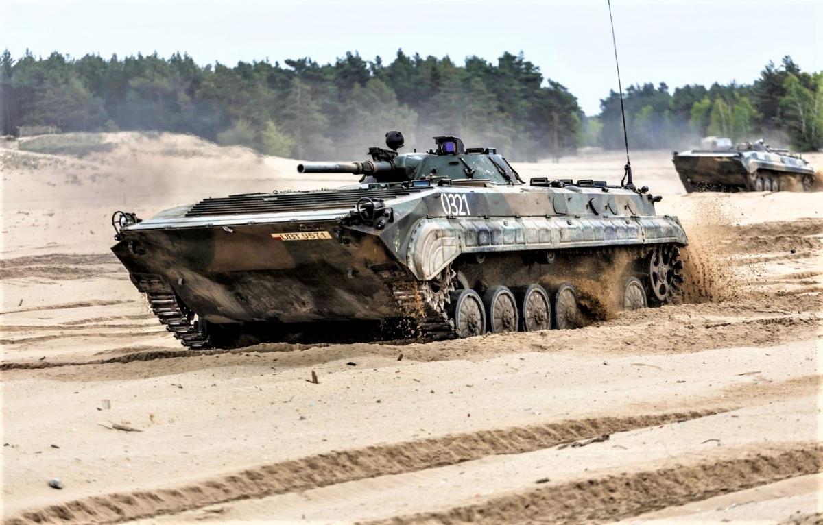 Các xe chiến đấu bộ binh BMP-1 và BWP-1 của Ba Lan sẽ được thay thay bằng IFV hiện đại; Nguồn: img4.goodfon.com