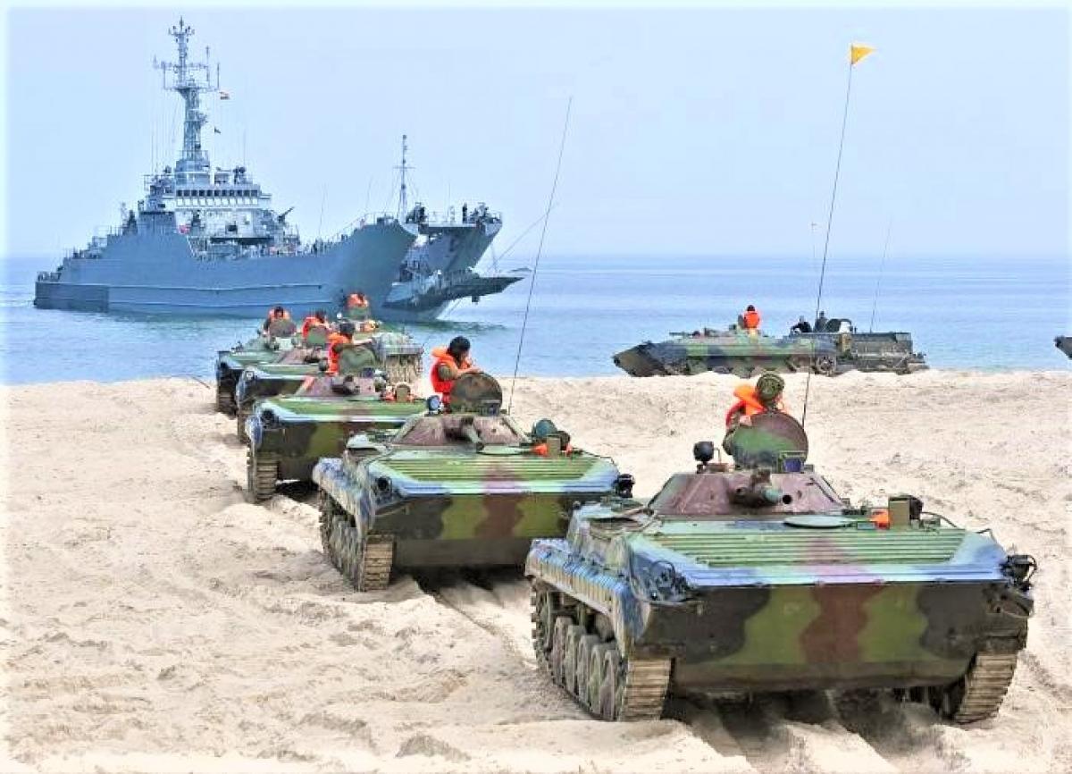 BMP-3 Nga trong một cuộc diễn tập; Nguồn: military.pravda.ru