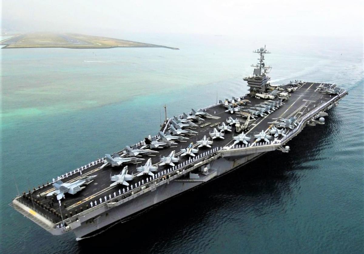 Hải quân Mỹ có 11 tàu sân bay chạy bằng năng lượng hạt nhân; Nguồn: housedemocrats.wa.gov