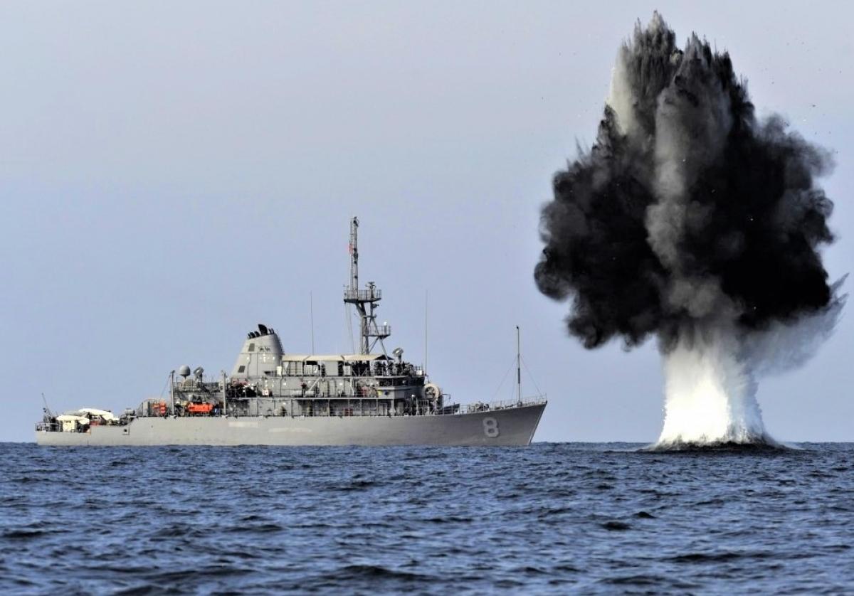 Mìn thủy được ghi nhận đã loại khỏi vòng chiến đấu nhiều tàu đối phương hơn tàu ngầm, pháo, bom hay ngư lôi; Nguồn: sofrep.com