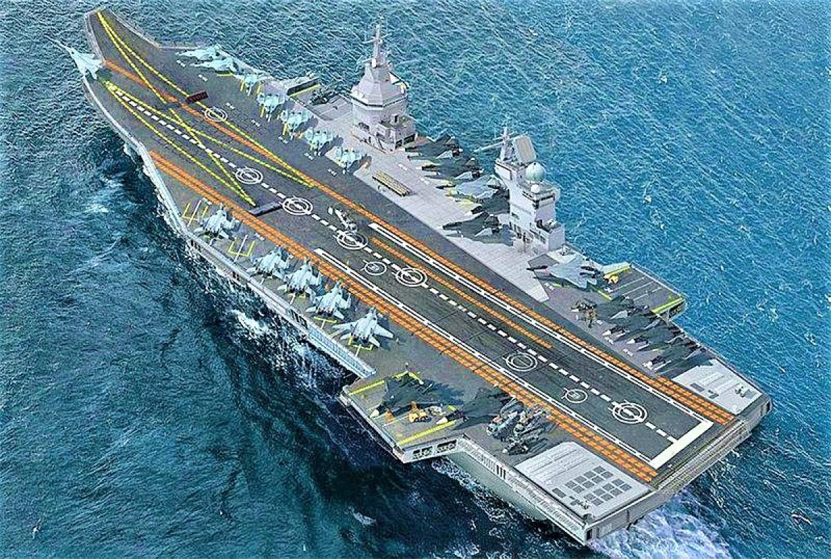 Giới chức quốc phòng Mỹ đang muốn tăng số lượng tàu sân bay hạng nhẹ; Nguồn: weaponews.com
