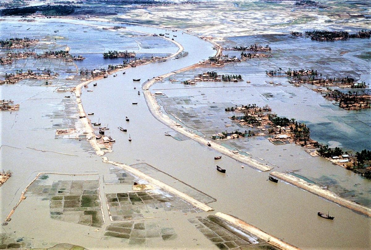 Chính nạn đói và bệnh tật do hậu quả của những trận lụt lớn đã khiến số người tử vong cao; Nguồn: wikipedia.org