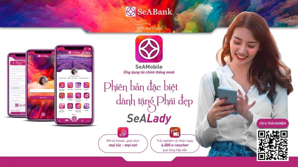 Seabank ra mắt ứng dụng ngân hàng số Seamobile phiên bản đặc biệt dành riêng cho phái đẹp