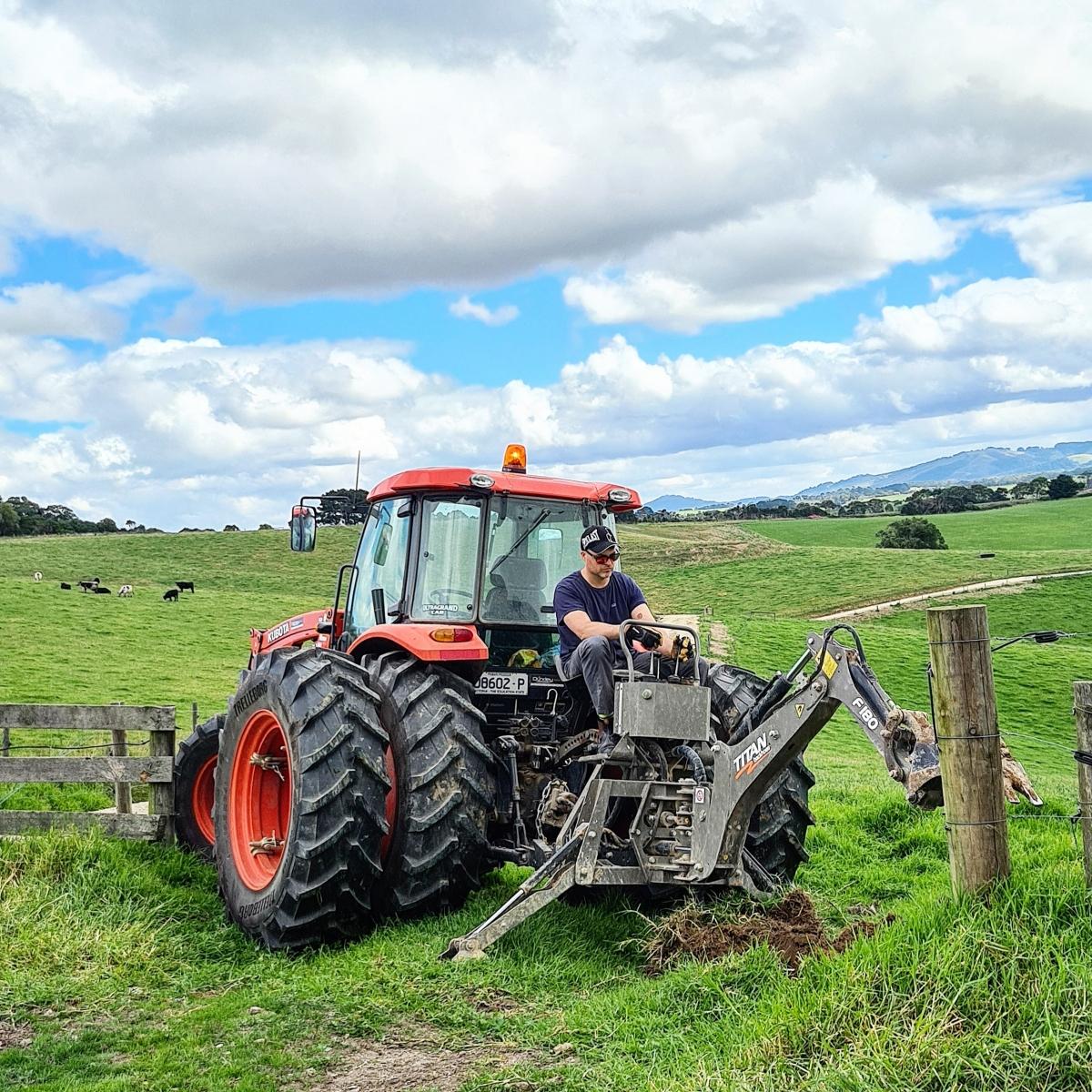 Cuộc sống ở nông trại.