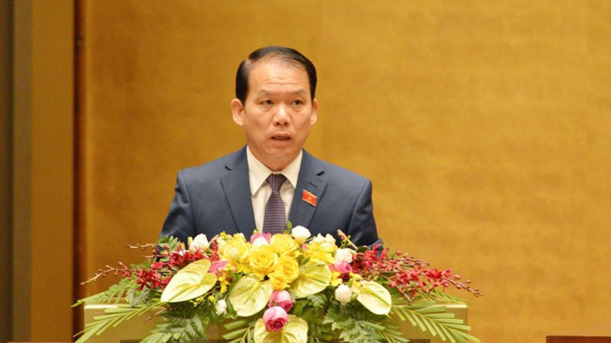 Ông Hoàng Thanh Tùng, Chủ nhiệm Ủy ban Pháp luật của Quốc hội.