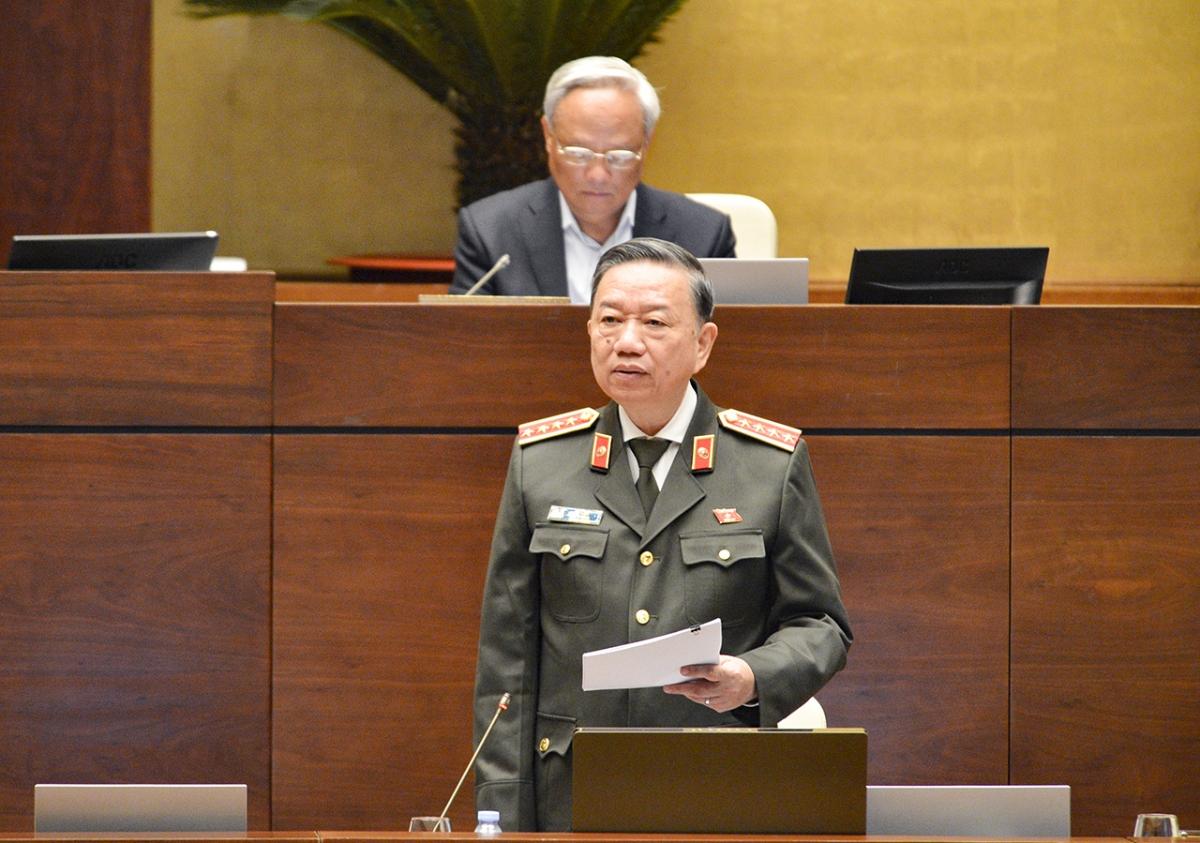 Đại tướng Tô Lâm, Bộ trưởng Bộ Công an.