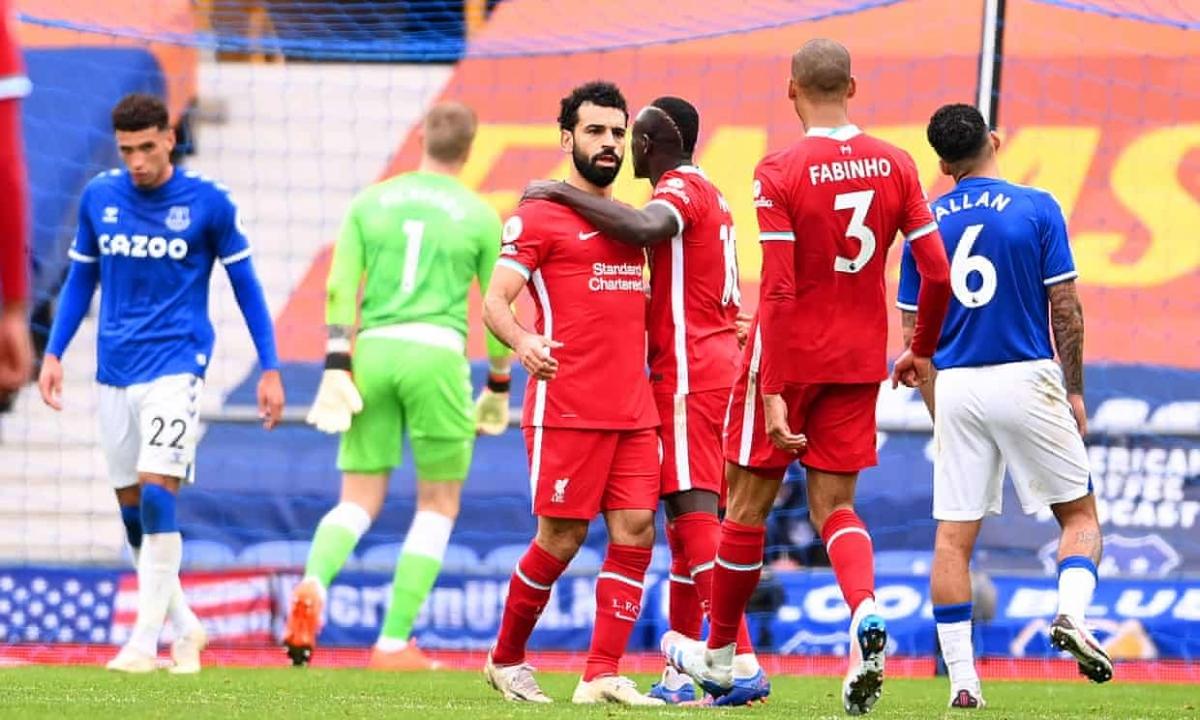 Salah cán mốc 100 bàn thắng cho Liverpool sau 159 trận. (Ảnh: Getty)