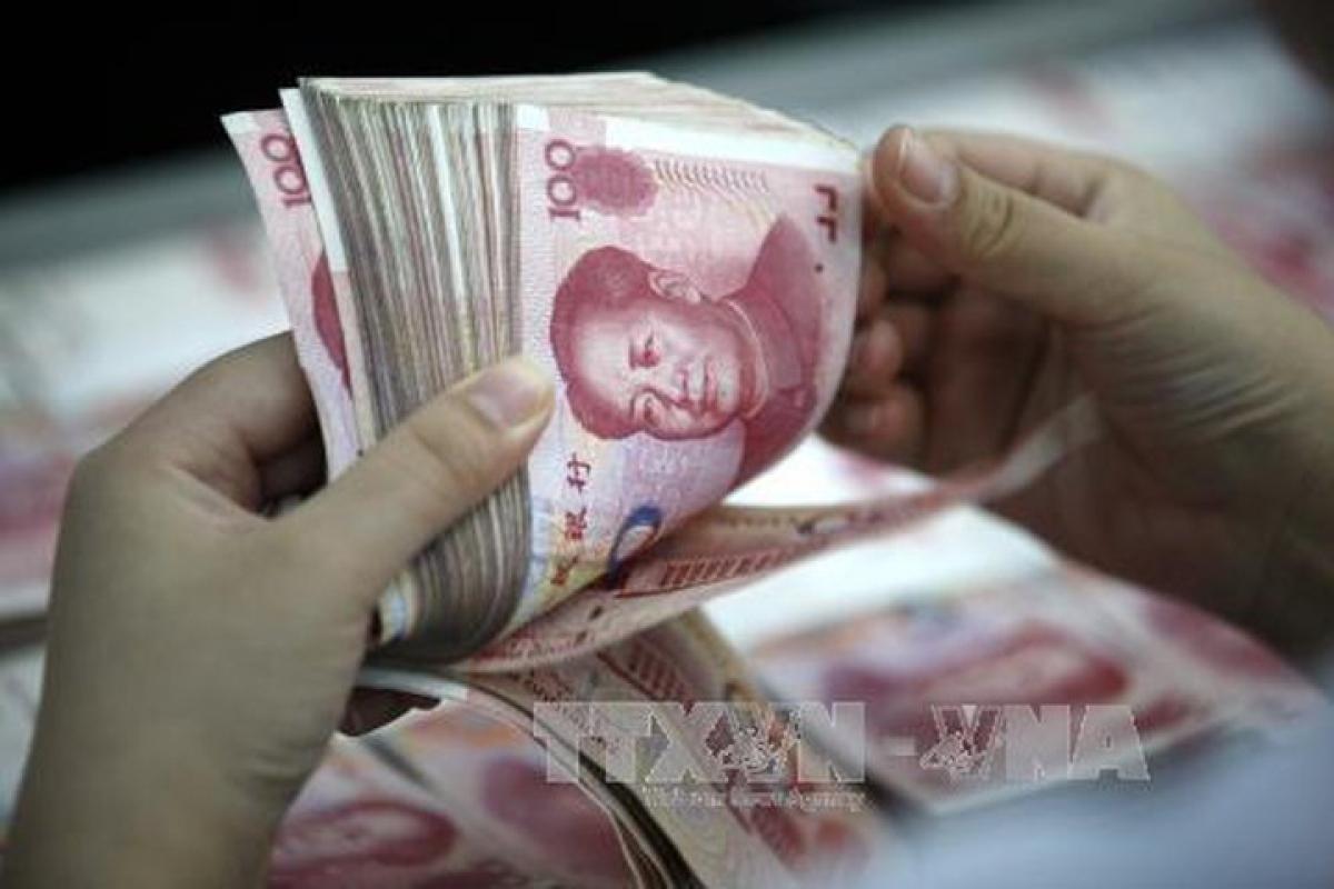 """Trung Quốc """"bơm"""" 140 tỷ nhân dân tệ vào thị trường. (Ảnh minh họa: TTXVN)"""
