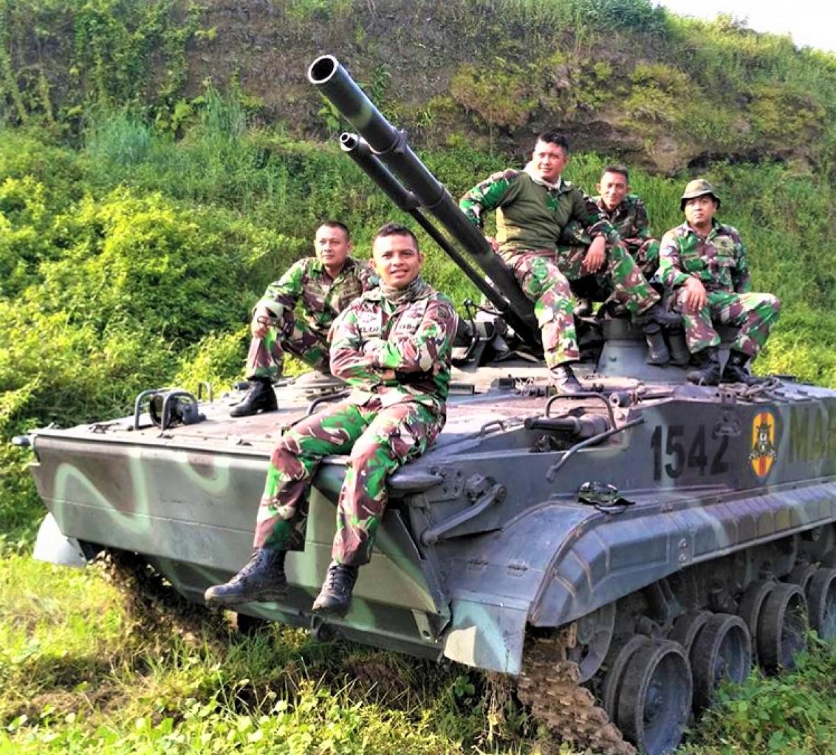 Indonesia hiện là khách hàng duy nhất sử dụng BMP-3F; Nguồn: bmpd.livejournal.com
