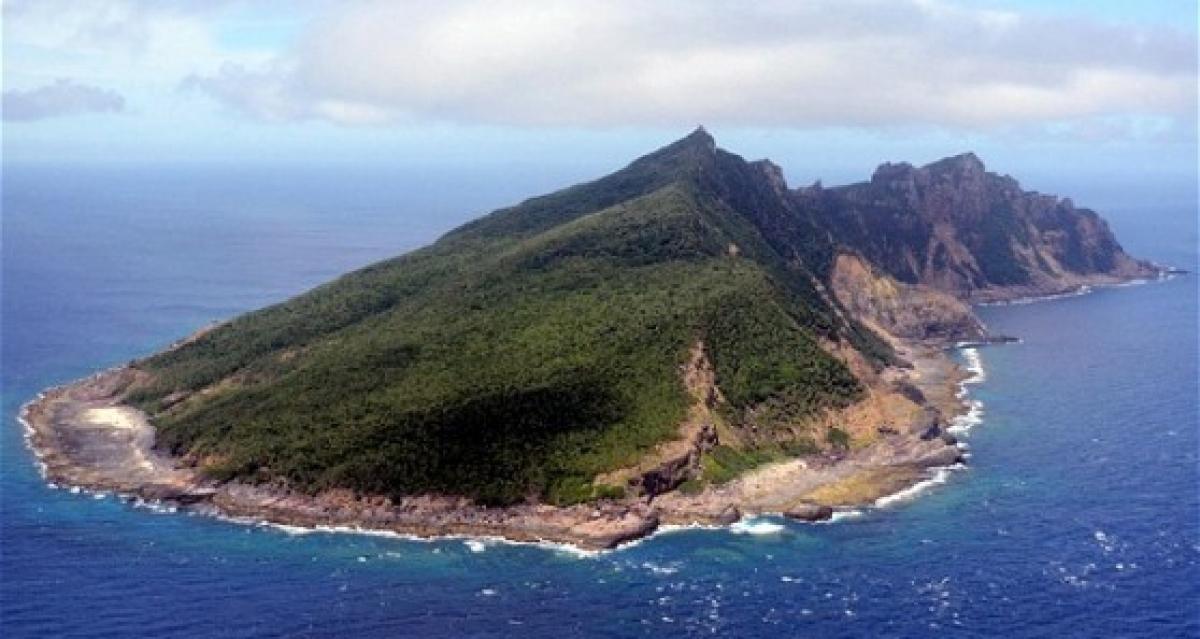 Đảo Uotsuri trong quần đảo Senkaku/Điếu Ngư trên Biển Hoa Đông. (Ảnh: AP)