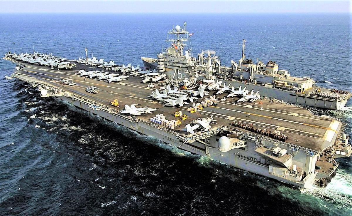 Sứ mệnh tàu sân bay hạng nhẹ là giải phóng các siêu tàu sân bay cho các cuộc chiến quan trọng hơn; Nguồn: crewdaily.com