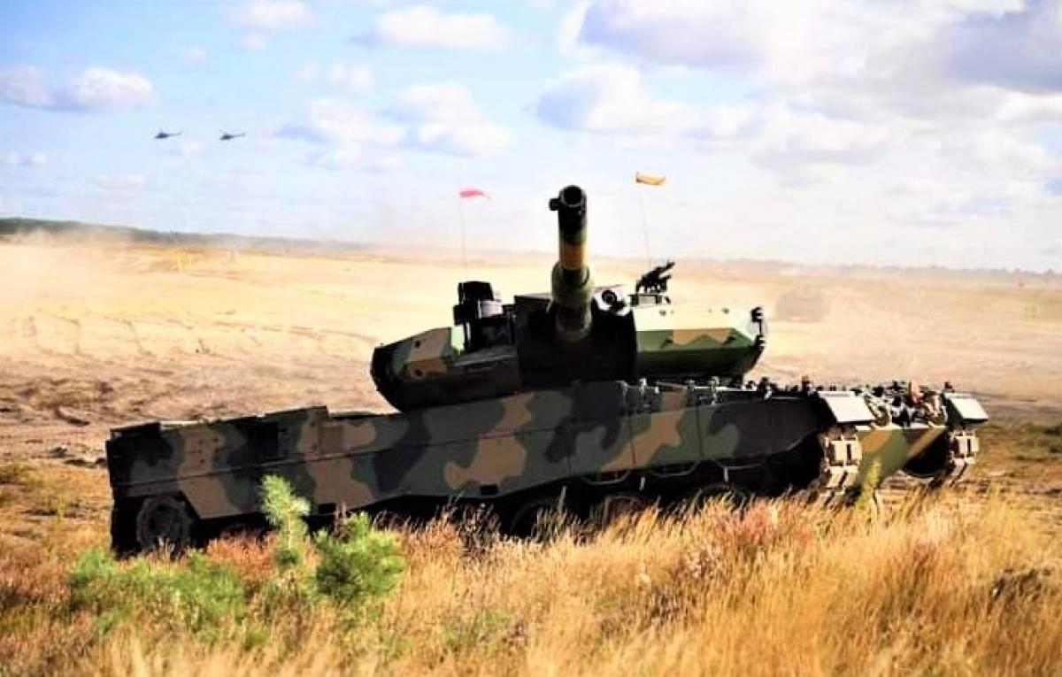 Ba Lan đang có chương trình hiện đại hóa xe tăng Đức Leopard 2PL; Nguồn: wikipedia.org