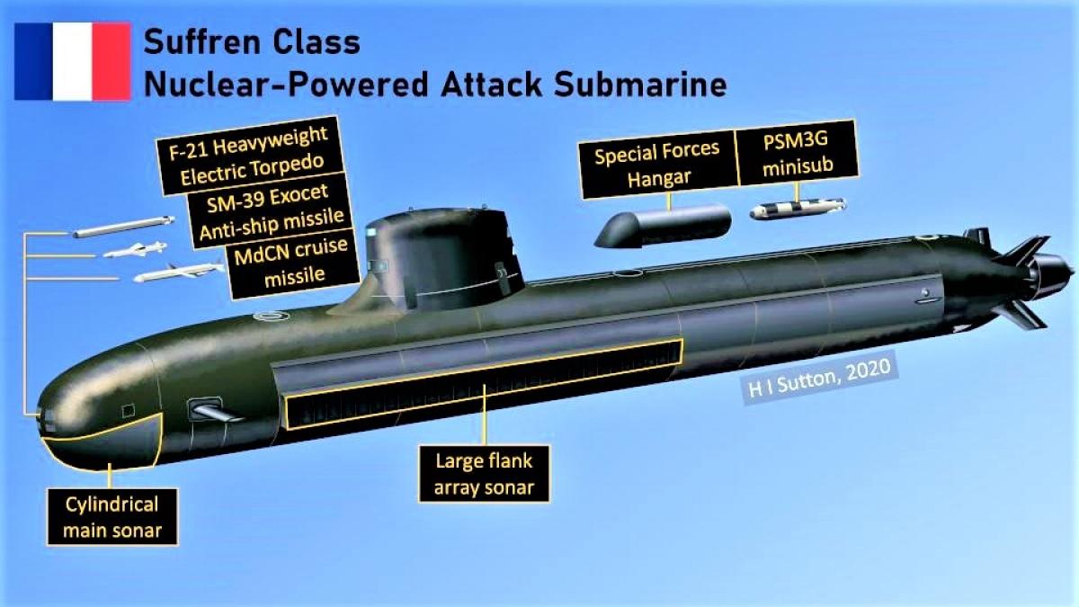 Suffren có thiết kế hoàn hảo, được tích hợp các thiết bị tối tân và vũ khí hiện đại; Nguồn: forbes.com