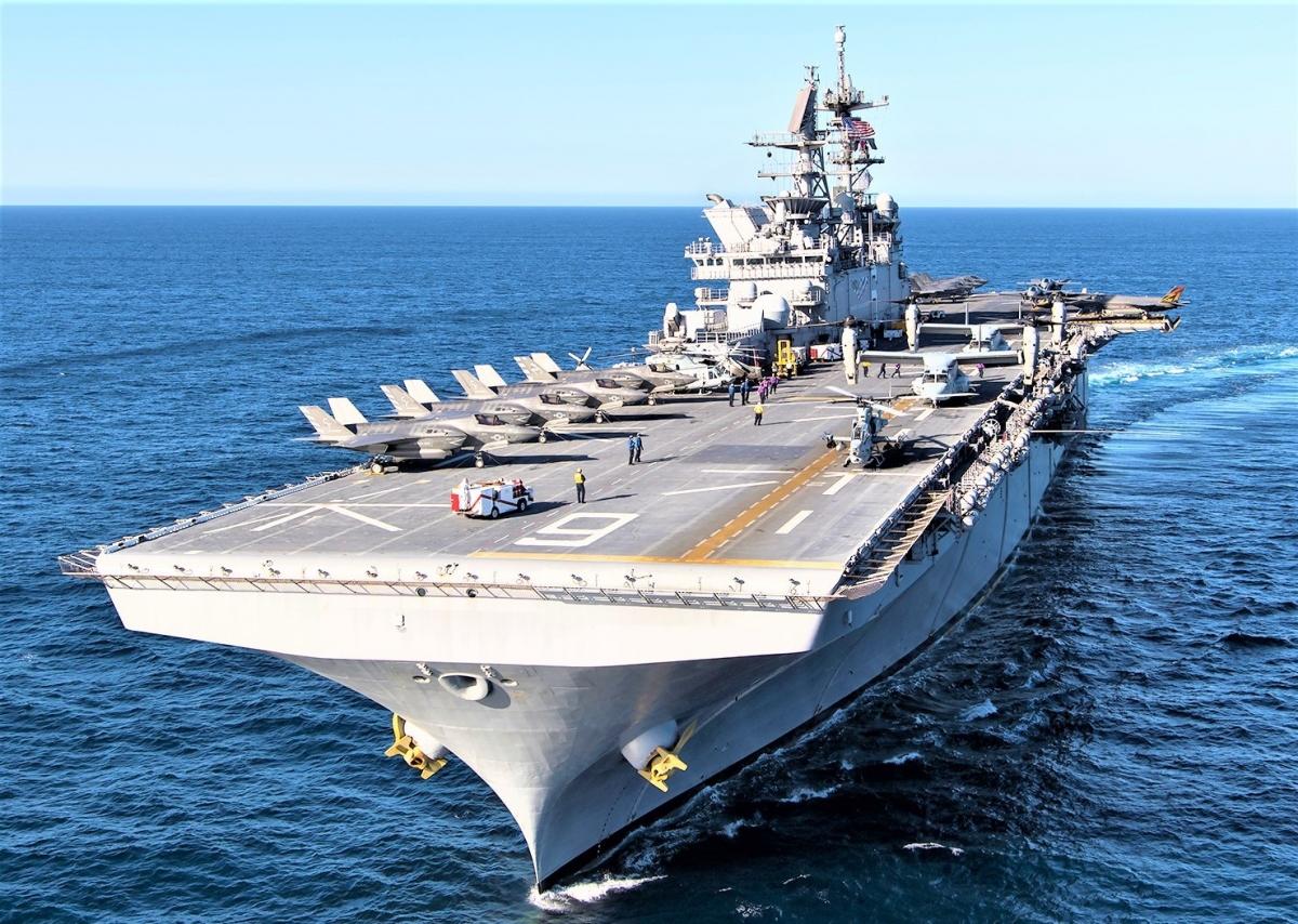 Với các nhược điểm cố hữu, tàu sân bay hạng nhẹ được cho sẽ không đáp ứng kỳ vọng của giới chức Mỹ; thedrive.com