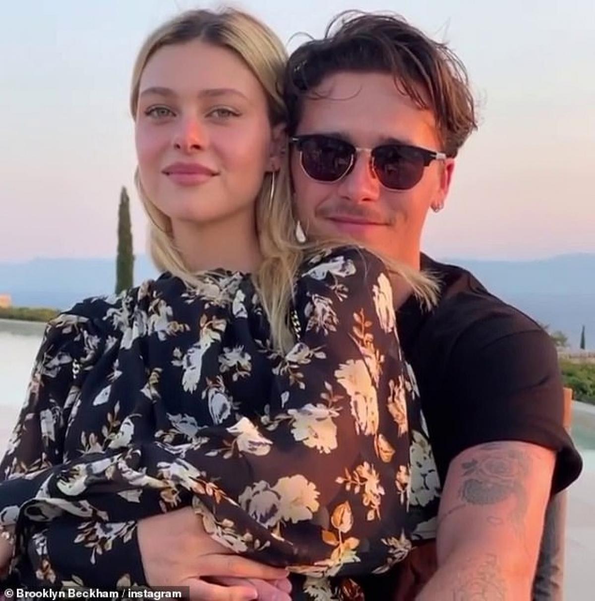 Brooklyn Beckham và bạn gái Nicola Peltz
