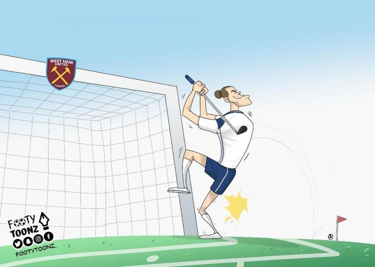 Bale đánh golf nhiều nên mất cảm giác đá bóng.