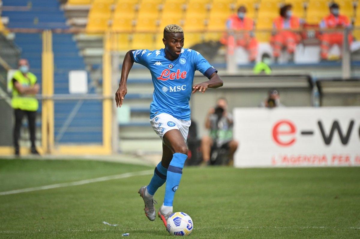 3. Victor Osimhen từ Lille chuyển tới Napoli với giá 70 triệu Euro