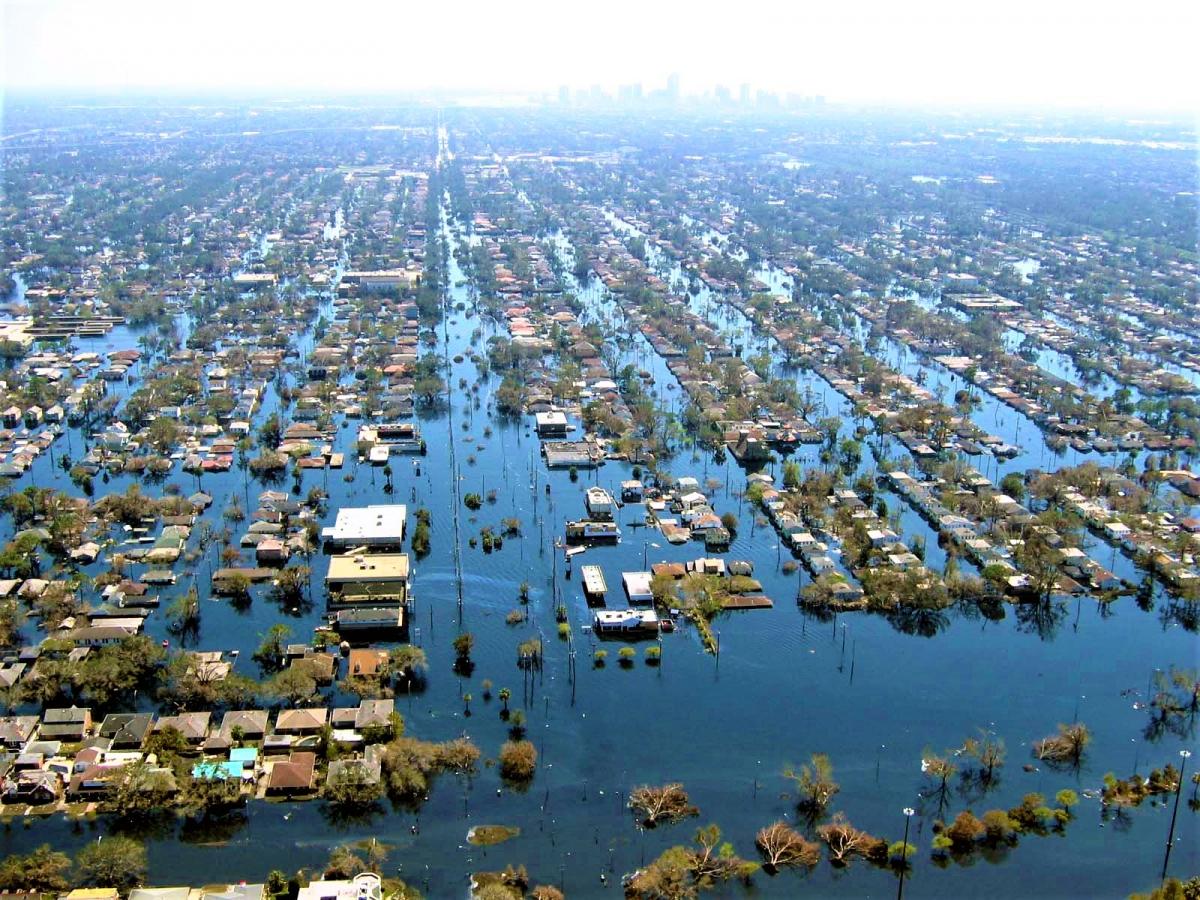 Các nhà khoa học đã cảnh báo chúng ta sẽ phải chứng kiến những trận lũ lụt thường xuyên hơn và tàn khốc hơn; Nguồn: wikipedia.org