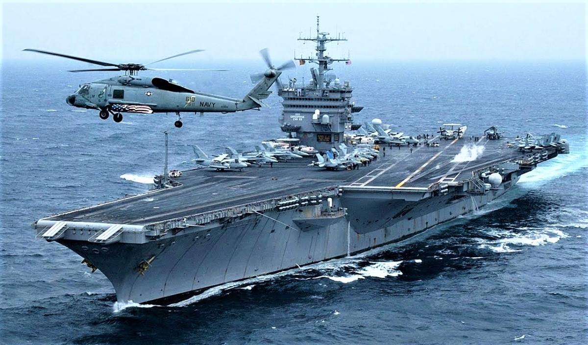 Trong chiến tranh, có một số nhiệm vụ chỉ tàu sân bay chạy bằng năng lượng hạt nhân có thể đảm nhận; Nguồn: worldrecordacademy.org