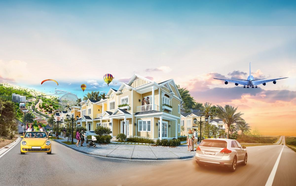 Mẫu second home tại NovaWorld Phan Thiet.