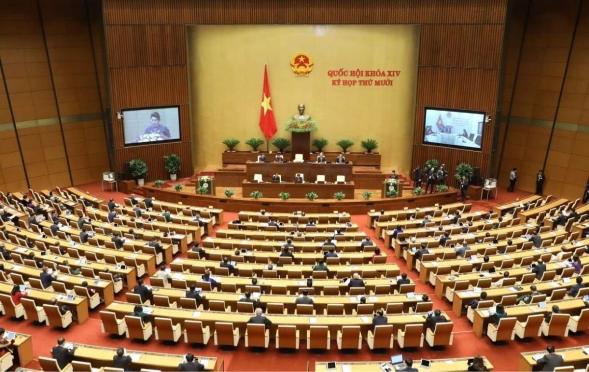 Kỳ họp thứ 10 Quốc hội khoá XIV.