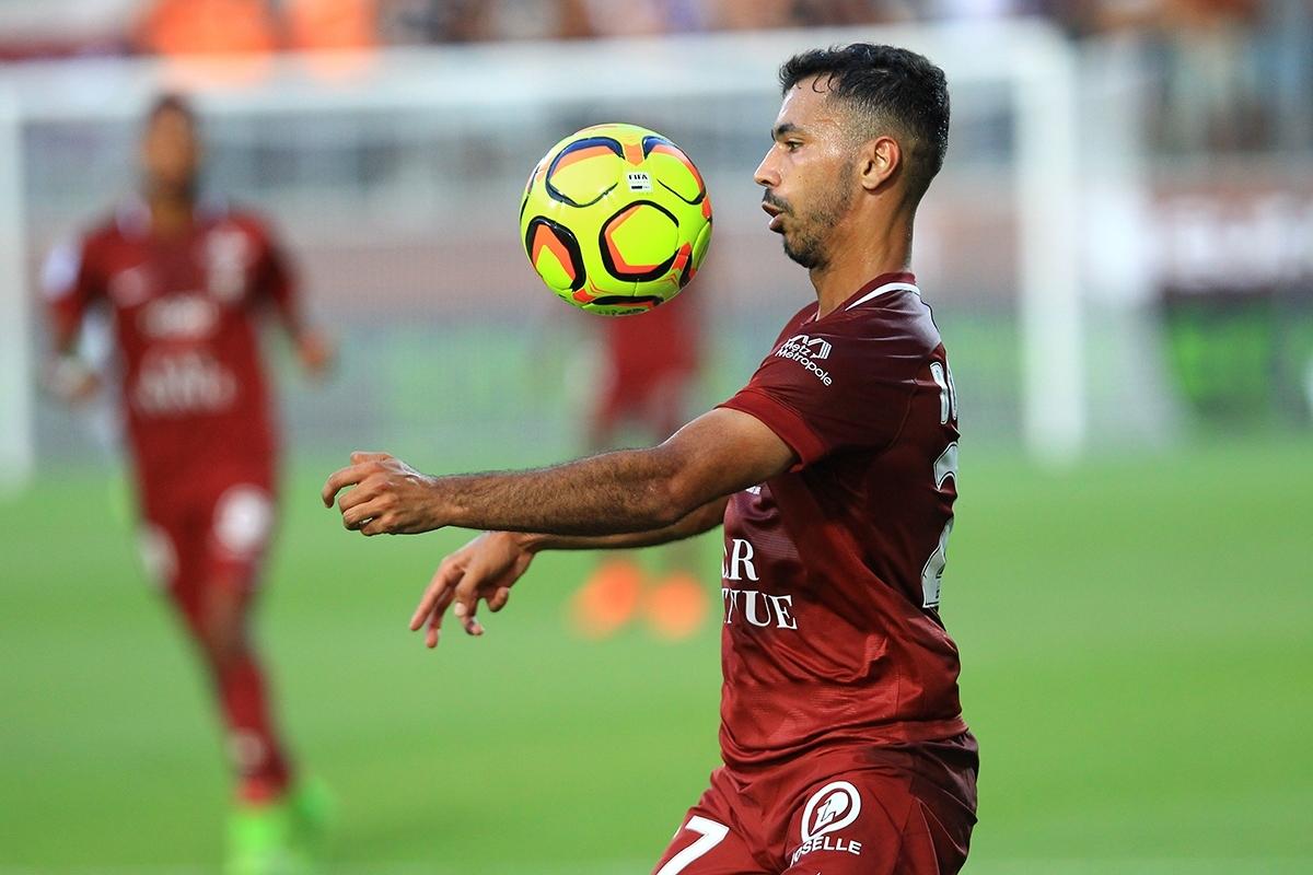 7. Farid Boulaya (Metz) - Chỉ số tổng quan: 72