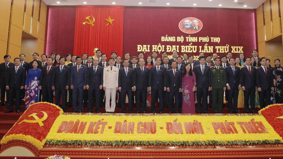 Ban Chấp hành Đảng bộ tỉnh lần thứ 19, nhiệm kỳ 2020 – 2025 ra mắt Đại hội