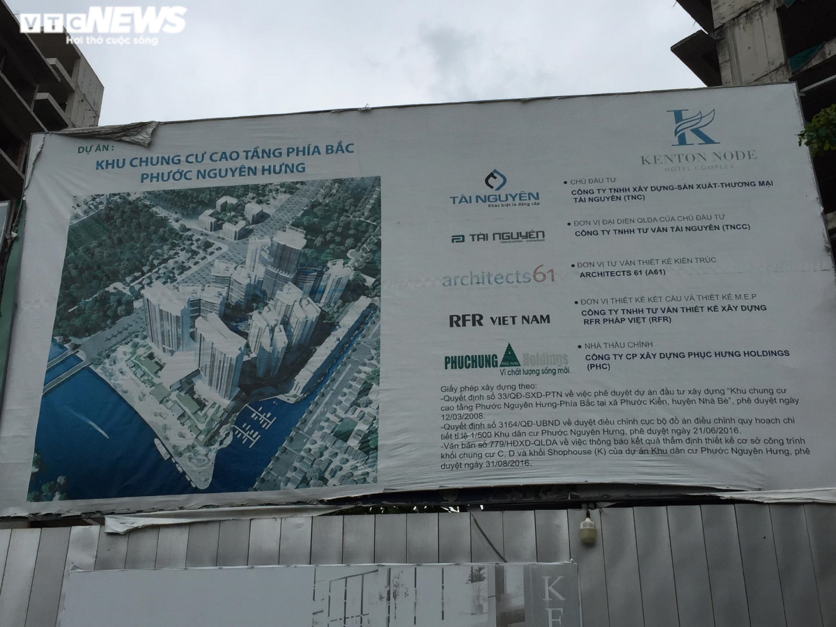 """Ở vị trí đắc địa tại huyện Nhà Bè, nằm sát Quận 7, song dự án Kenton Node lại """"đắp chiếu"""" nhiều năm liền khiến nhiều người xuýt xoa."""