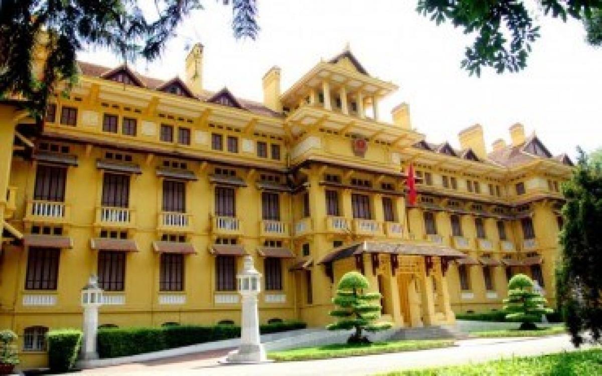 Trụ sở Bộ Ngoại giao. (Nguồn: baochinhphu.vn)