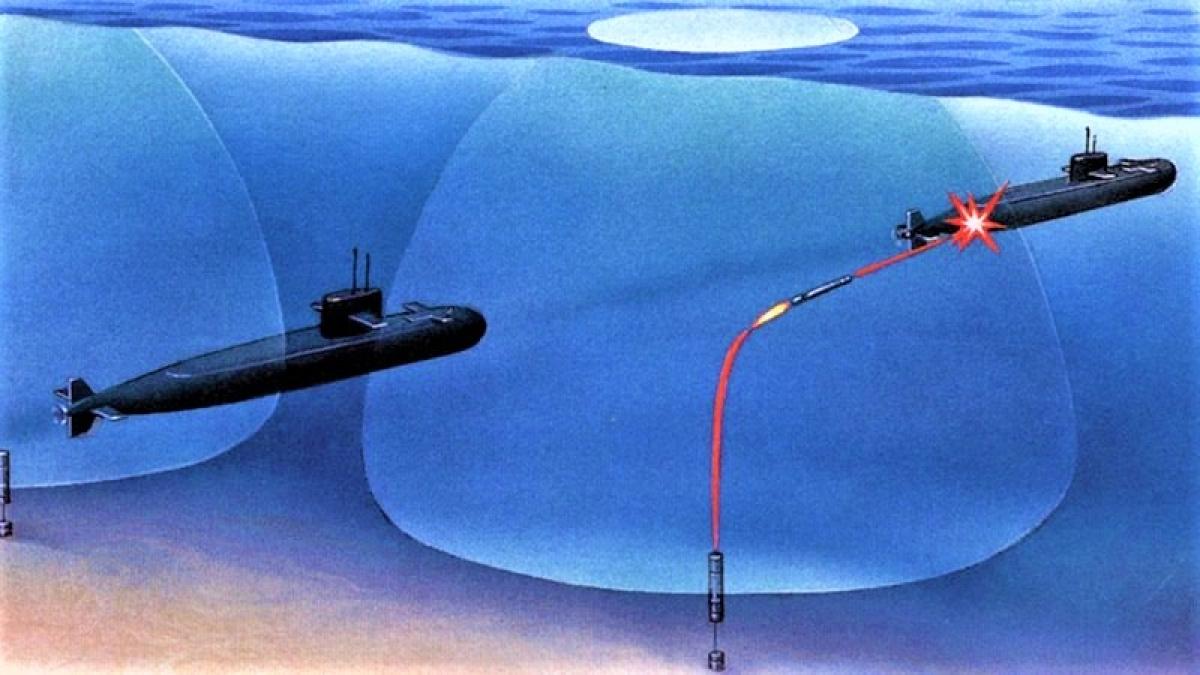 Hammerhead phục kích và tấn công tàu ngầm đối phương bằng ngư lôi có lái dẫn; Nguồn: defpost.com