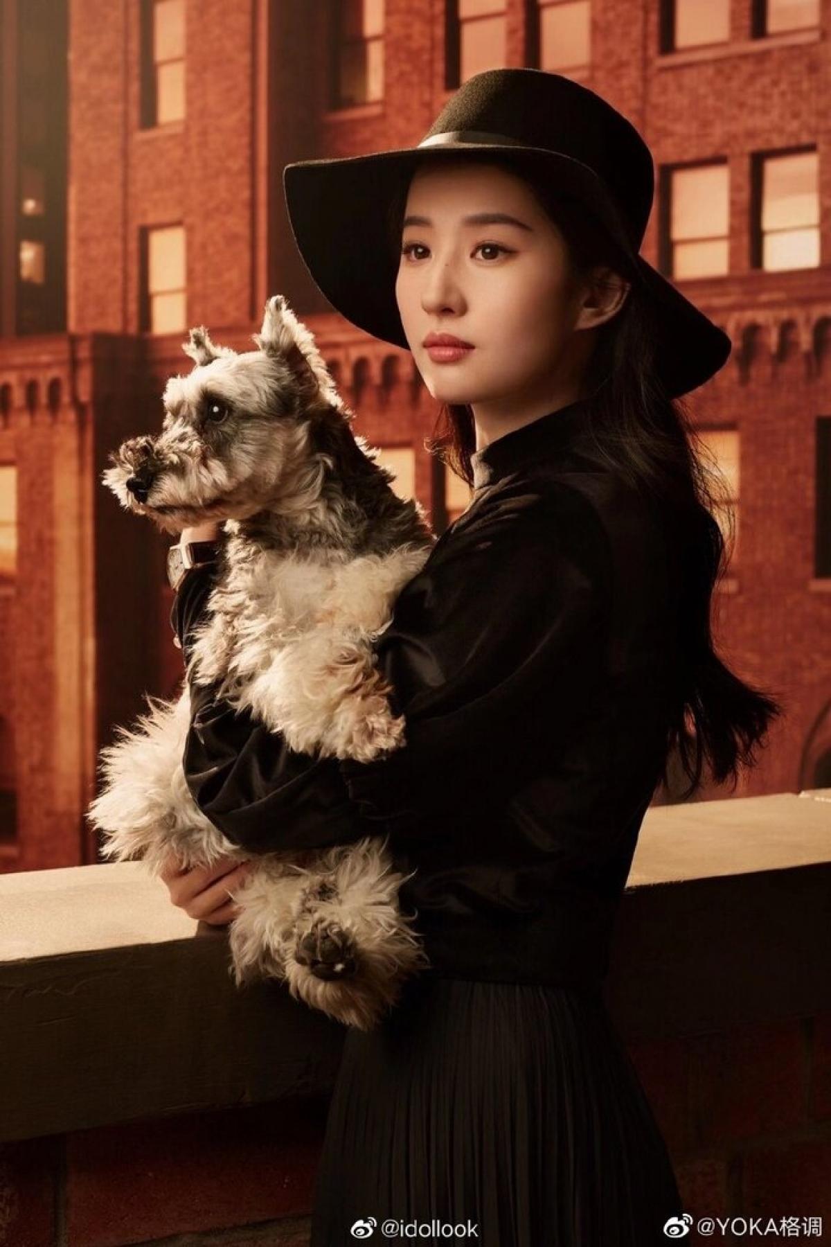 Hình ảnh quảng cáo mới nhất của Lưu Diệc Phi.