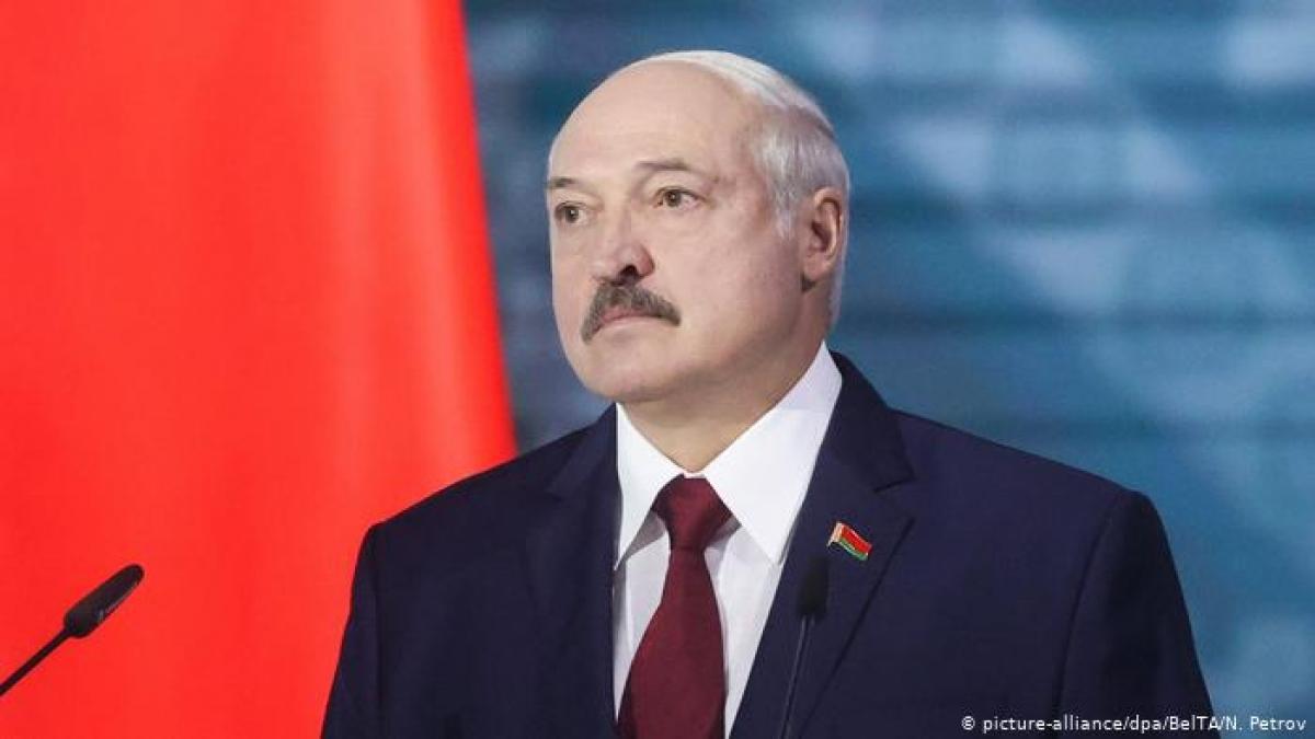 Tổng thống Belarus Alexander Lukashenko. Ảnh: DW.