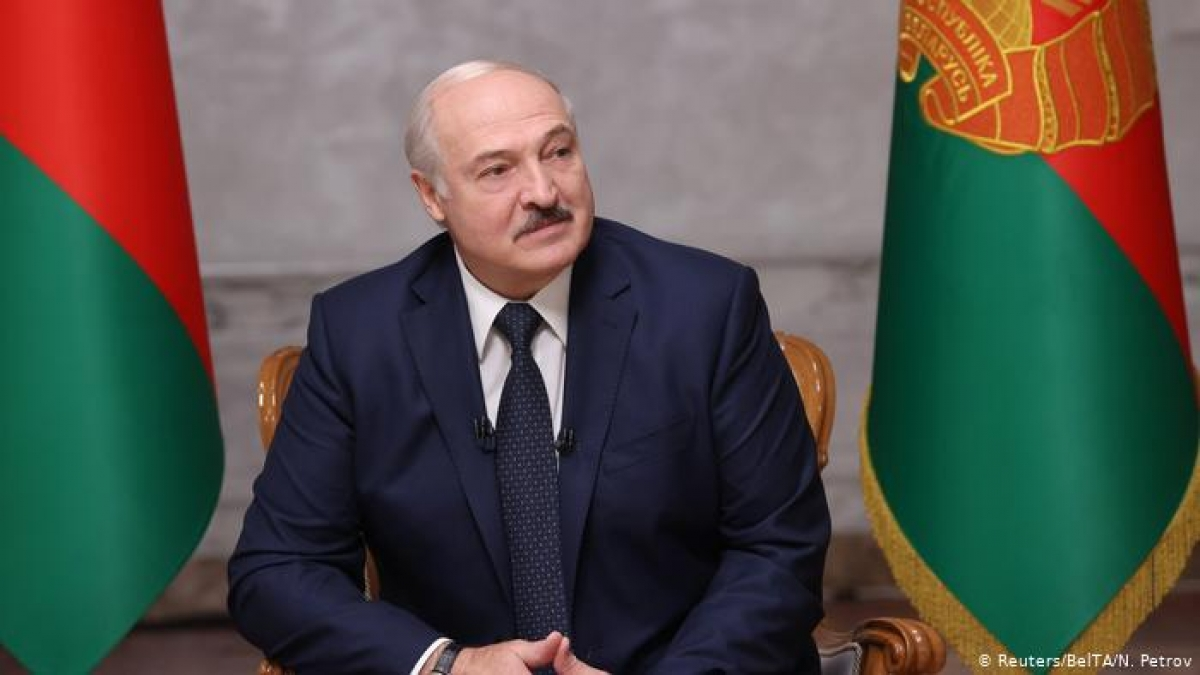 Tổng thống Belarus Alexander Lukashenko. Ảnh: Republic World. Ảnh: Reuters.