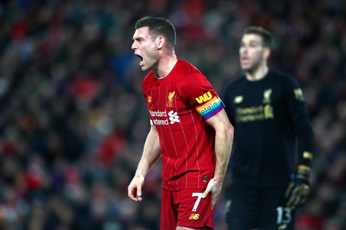 Hậu vệ trái: James Milner