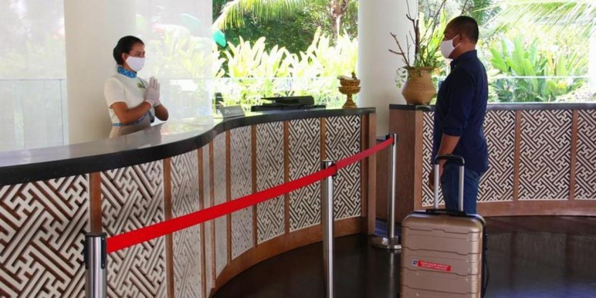 Các khách sạn Indonesia thực hiện giao thức y tế (Nguồn: Kompas)