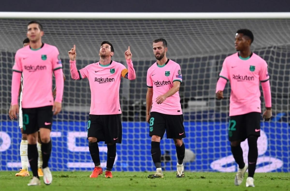 Messi tỏa sáng, Barca thắng dễ Juventus (Ảnh: Getty).