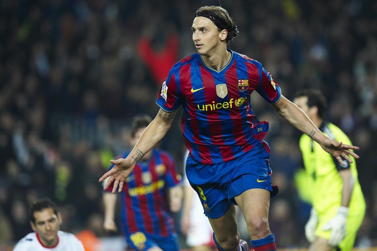 Zlatan Ibrahimovic | Juventus: 2004 - 2006 | Barca: 2009 – 2011