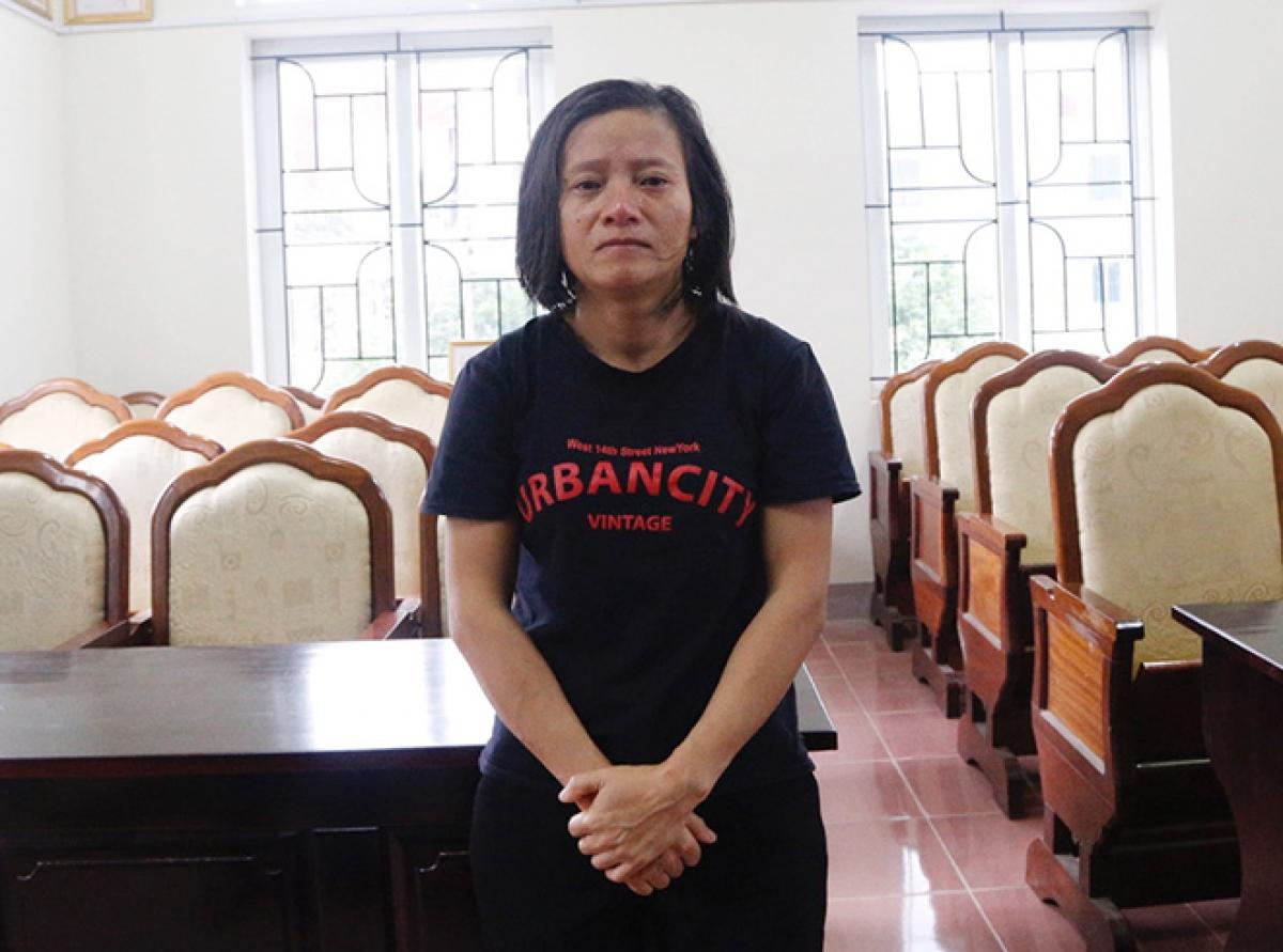 Đối tượng Nguyễn Thị Vân.