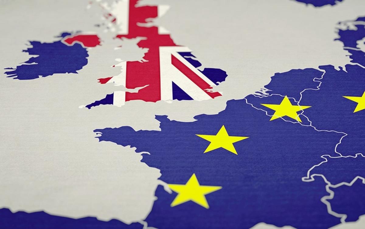 Hình ảnh về Anh và EU. Ảnh: Europa.