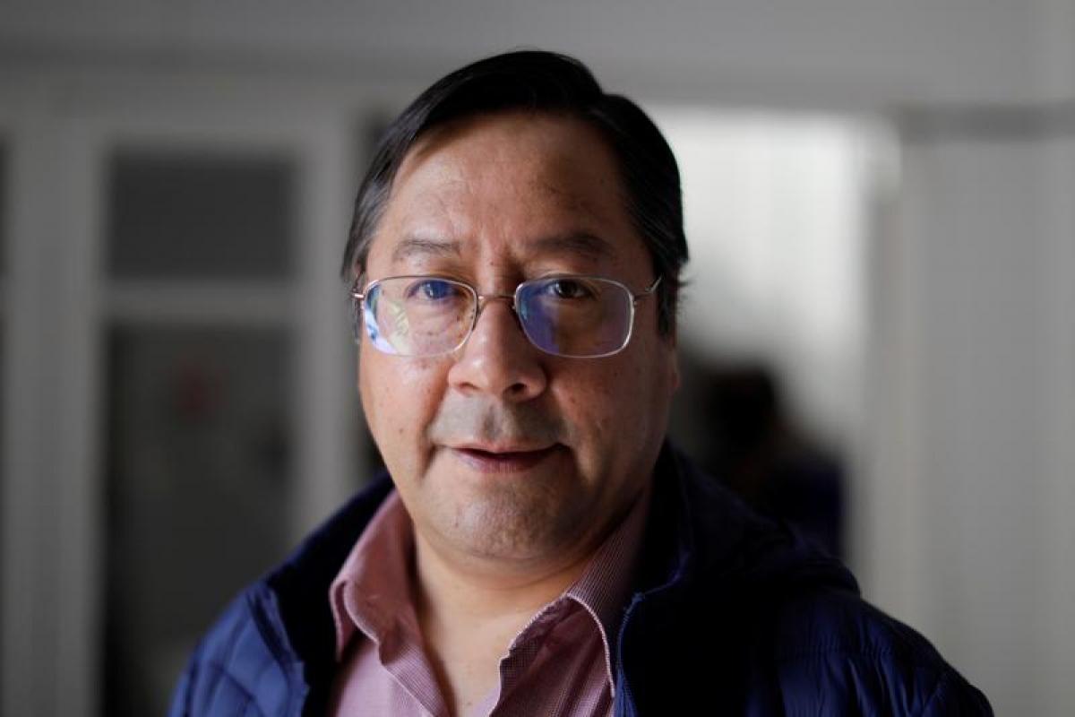Ông Luis Arce - đại diện cho đảng Phong trào Tiến lên Chủ nghĩa Xã hội (MAS). Ảnh: Reuters