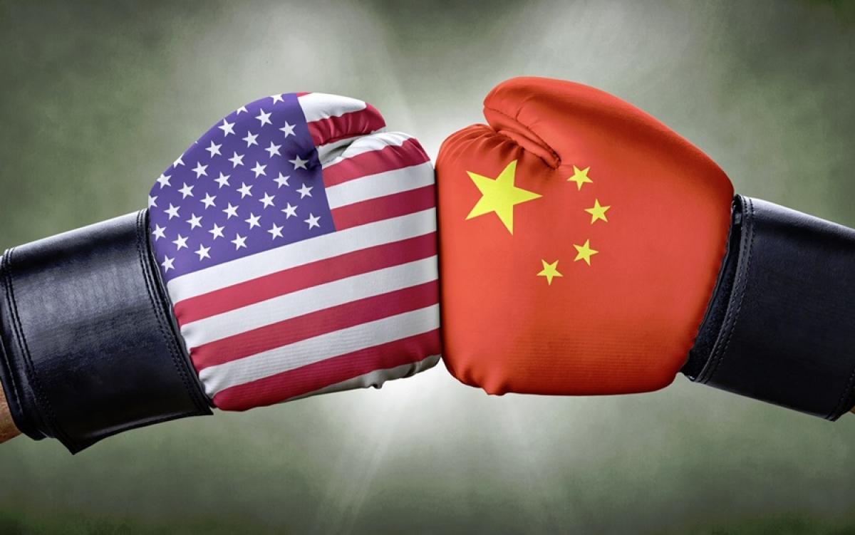Cuộc so găng giữa Mỹ và Trung Quốc. Hình ảnh mình họa: CEO Today.