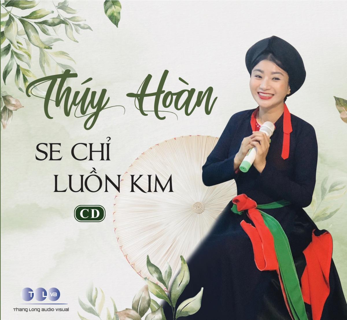 """CD """"Se chỉ luồn kim""""là album thứ hai củanghệ sĩ Thúy Hoàn."""
