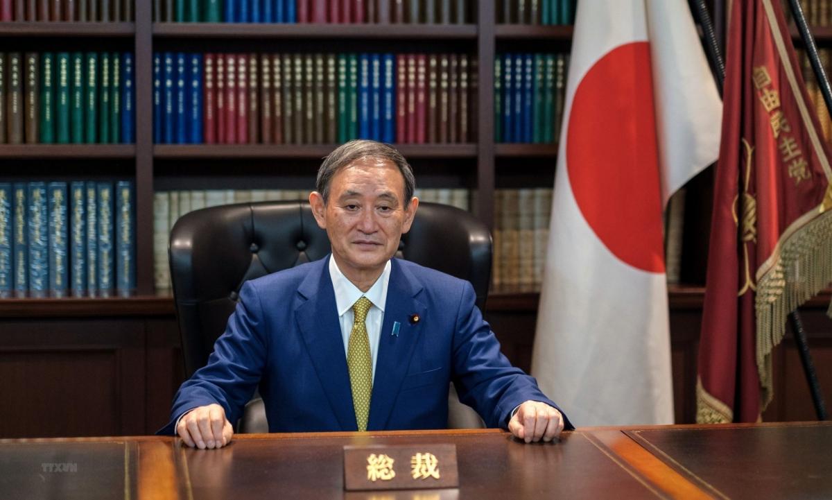Tân Thủ tướng Nhật BảnYoshihide Suga. Ảnh: AFP/TTXVN