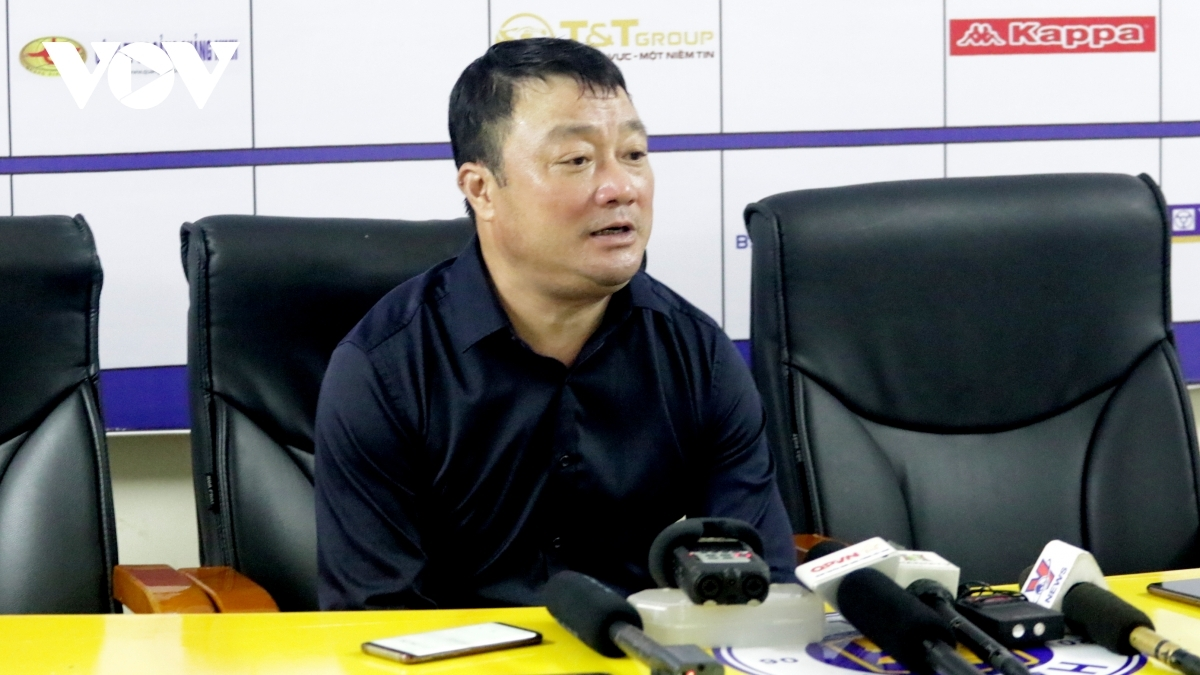 HLV Trương Việt Hoàng khẳng định Viettel chưa nghĩ đến chức vô địch V-League 2020. (Ảnh: Trần Tiến).