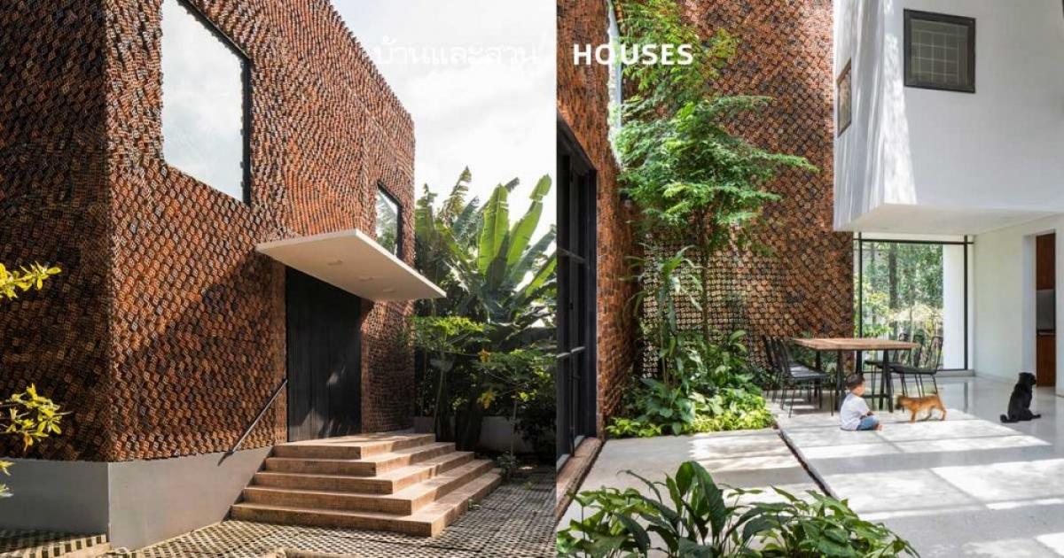 Ngôi nhà tràn đầy cây xanh, mang lại sự dễ chịu, thư thái cho chủ nhân./.