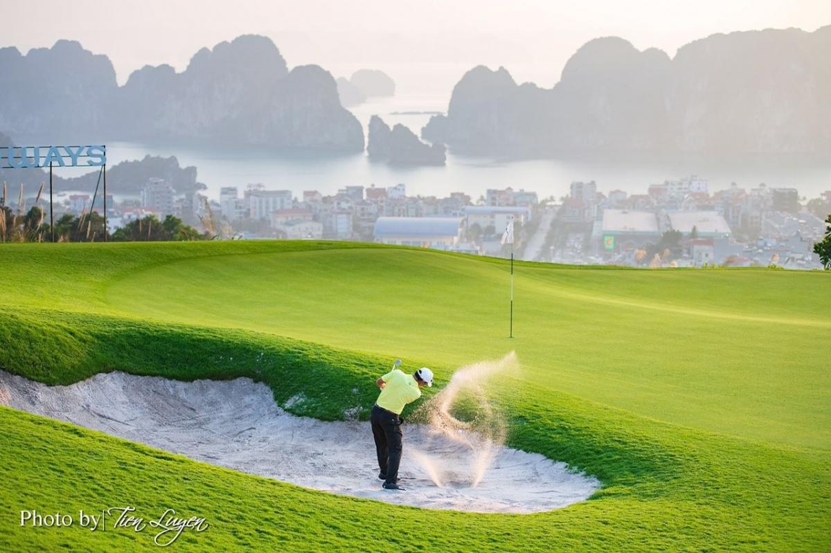 FLC Golf Club Halong – điểm đến bốn mùa của Quảng Ninh.