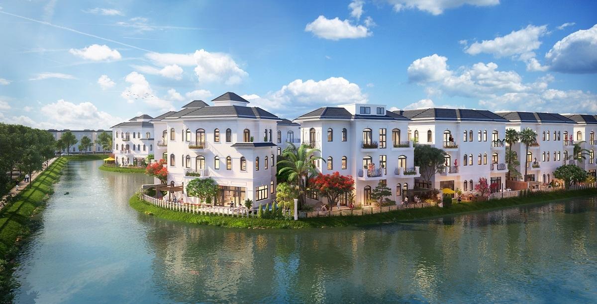 Phân khu The Legend Palace – vịnh đảo riêng biệt đẳng cấp bậc nhất Khu đô thị Vinhomes Star City Thanh Hóa (Hình ảnh chỉ mang tính chất minh họa).