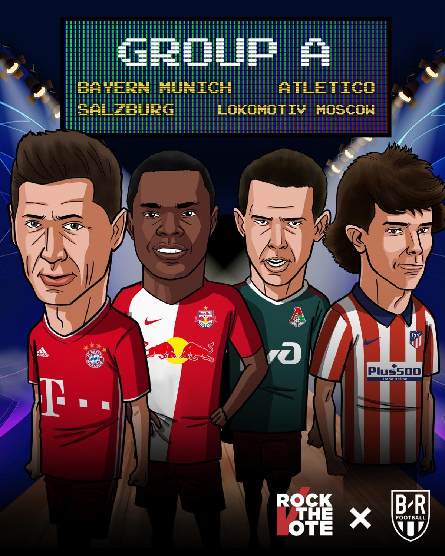 21/10 23:55 Salzburg - Lokomotiv Moskva 22/10 02:00 Bayern Munchen - Atletico Madrid